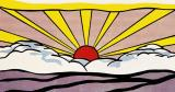 Sunrise C 1965 by Roy Lichtenstein