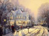 A Holiday Gathering by Thomas Kinkade