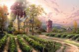 Abundant Harvest by Thomas Kinkade