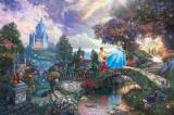 Cinderella Wishes Upon a Dream by Thomas Kinkade