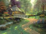 Friendship Cottage by Thomas Kinkade
