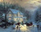 Home for The Holidays by Thomas Kinkade