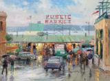 Pike Place Market by Thomas Kinkade
