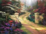 Spring Gate by Thomas Kinkade
