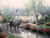Sunday Outing by Thomas Kinkade