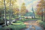 The Aspen Chapel by Thomas Kinkade