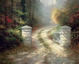 The Autumn Gate by Thomas Kinkade