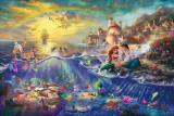 The Little Mermaid by Thomas Kinkade
