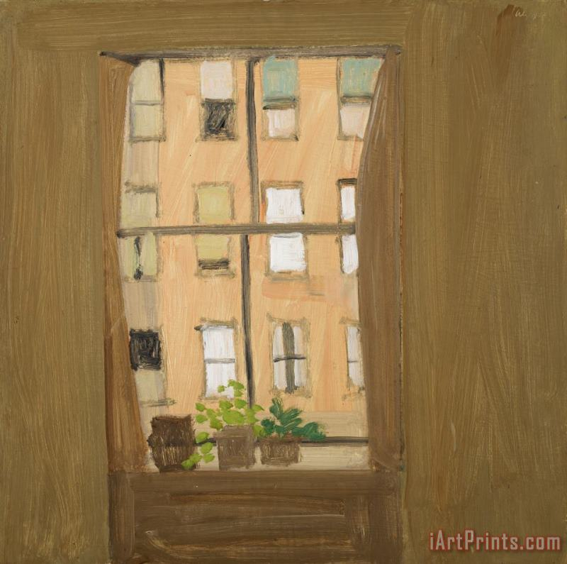 Window 5 painting - Alex Katz Window 5 Art Print
