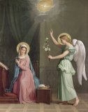 The Annunciation by Auguste Pichon