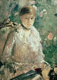 Portrait of a Young Lady by Berthe Morisot
