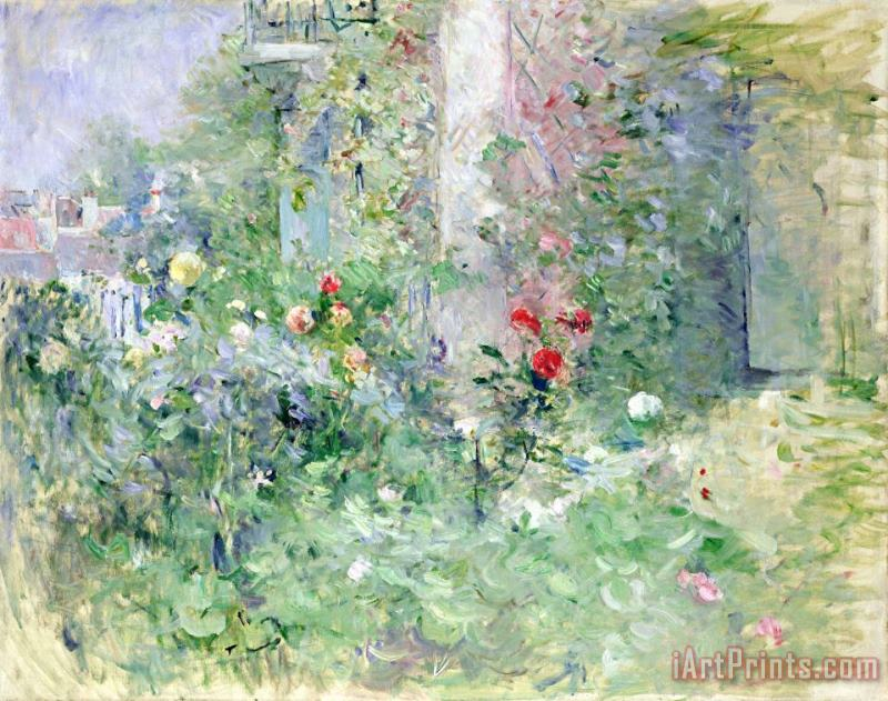 Berthe Morisot The Garden at Bougival Art Painting