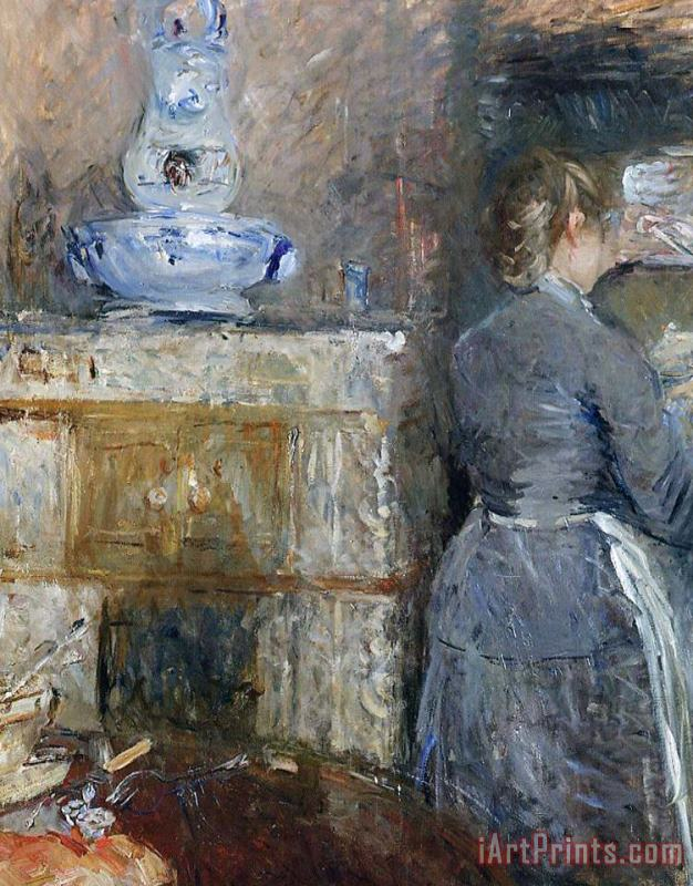 The Rouart's Dining Room painting - Berthe Morisot The Rouart's Dining Room Art Print