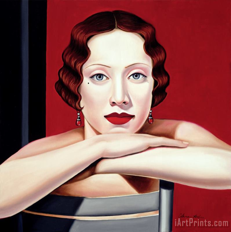 Berlin painting - Catherine Abel Berlin Art Print