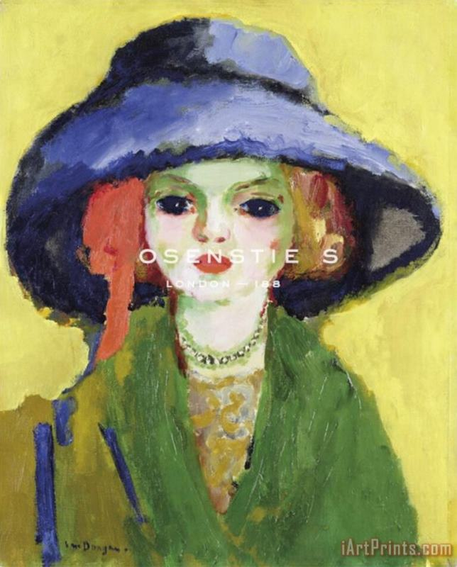 Portrait of Dolly 1911 painting - Collection Portrait of Dolly 1911 Art Print