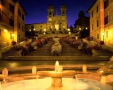 Trinita Dei Monti Steps Rome Italy by Collection