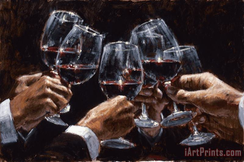 For a Better Life VI painting - Fabian Perez For a Better Life VI Art Print