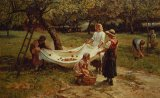 The Apple Gatherers by Frederick Morgan