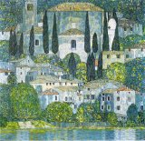 Kirche in Cassone by Gustav Klimt