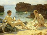 The Sun Bathers by Henry Scott Tuke