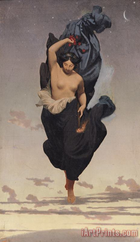 Jean Leon Gerome Night Art Print