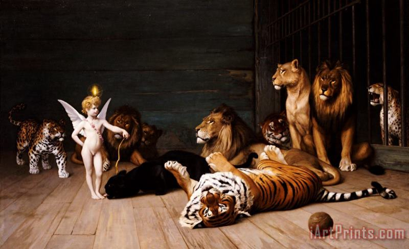 Whoever you are Here is your Master painting - Jean Leon Gerome Whoever you are Here is your Master Art Print