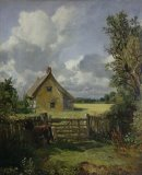 Cottage in a Cornfield by John Constable