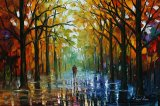 Fall Date by Leonid Afremov