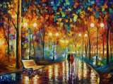 Rain's Rustle by Leonid Afremov