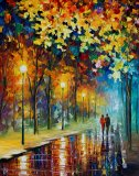 The Warmth Of Friends by Leonid Afremov