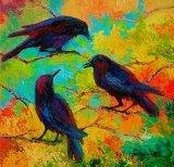 Roundtable Discussion - Crows by Marion Rose
