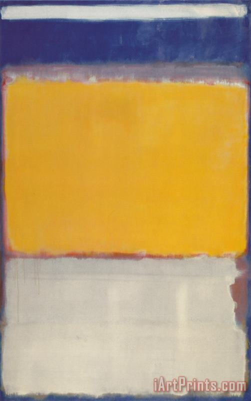 Framed Mark Rothko Number 10 Giclee Canvas Print Paintings Poster Reproduction