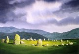 Castle Rigg Stone Circle by Paul Dene Marlor