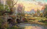 Cobblestone Evening by Thomas Kinkade