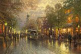 Evening on The Avenue by Thomas Kinkade