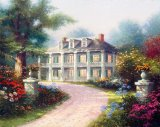 Homestead House by Thomas Kinkade