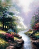 Petals of Hope by Thomas Kinkade