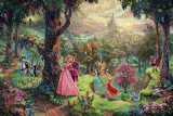 Sleeping Beauty by Thomas Kinkade