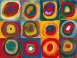 Colour Study Squares And Concentric Circles by Wassily Kandinsky