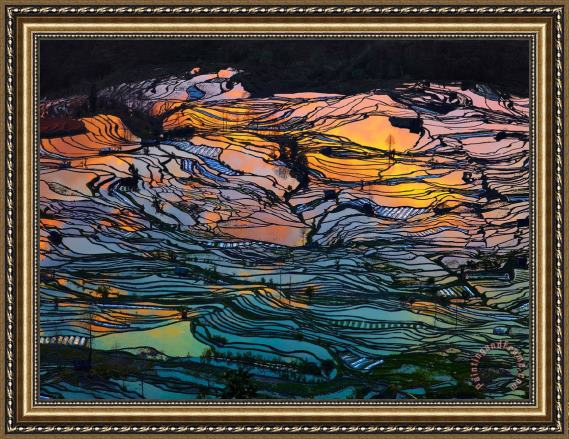 Collection Gods Pallet Stock Framed Painting