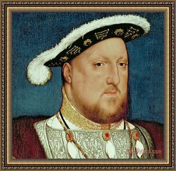 Hans Holbein the Younger King Henry VIII Framed Print