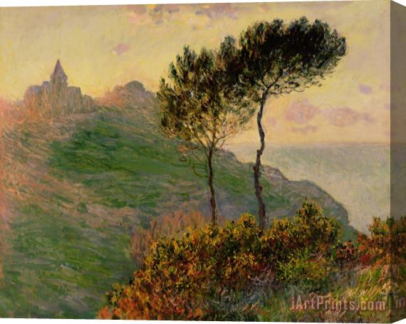 Claude Monet The Church at Varengeville against the Sunlight Stretched Canvas Print / Canvas Art