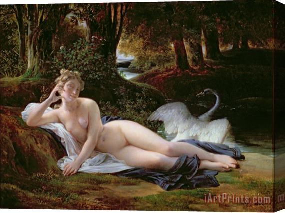 Francois Edouard Picot Leda and the Swan Stretched Canvas Print / Canvas Art