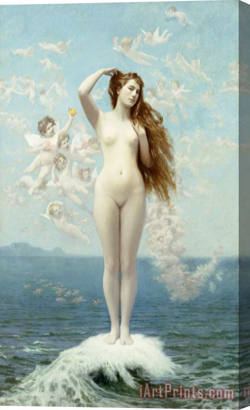 Jean Leon Gerome Venus Rising The Star Stretched Canvas Print / Canvas Art