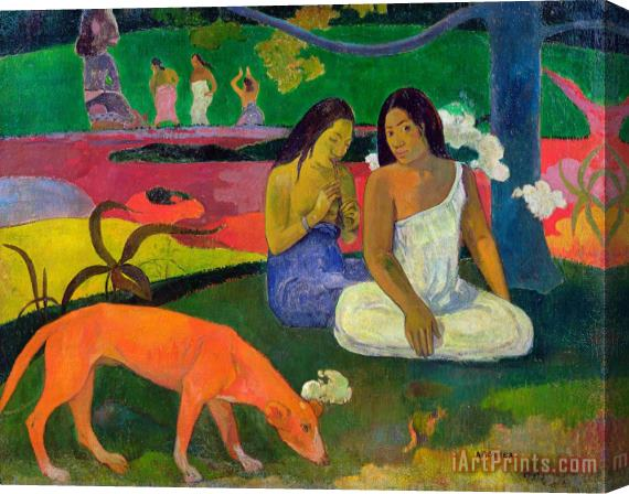 Paul Gauguin The Red Dog Stretched Canvas Print / Canvas Art