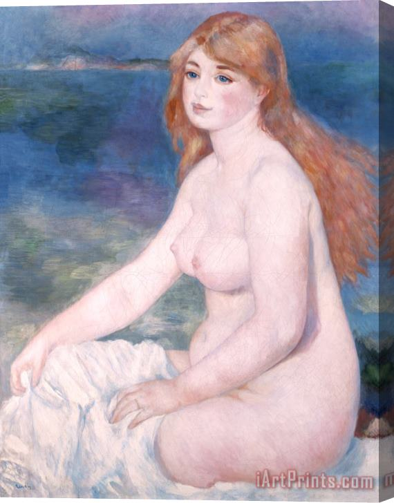 Renoir Blonde Bather II Stretched Canvas Print / Canvas Art