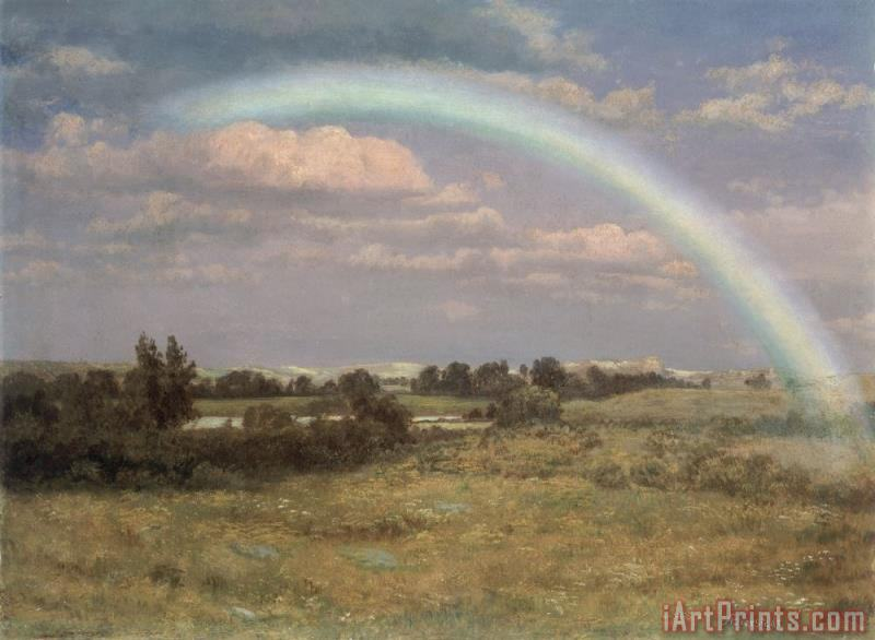After the Storm painting - Albert Bierstadt After the Storm Art Print