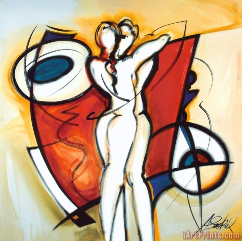Endless Love painting - alfred gockel Endless Love Art Print