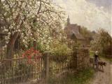 Apple Blossom by Alfred Muhlig