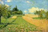 The Cornfield by Alfred Sisley